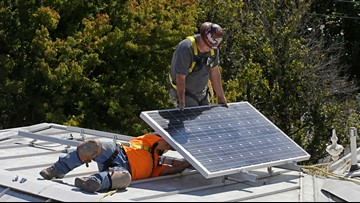 California law exempts wildfire victims from solar rules