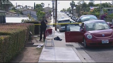 San Diego police search for suspect connected to box cutter stabbing in Mt. Hope