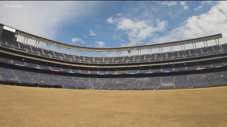 A final look inside SDCCU Stadium in San Diego