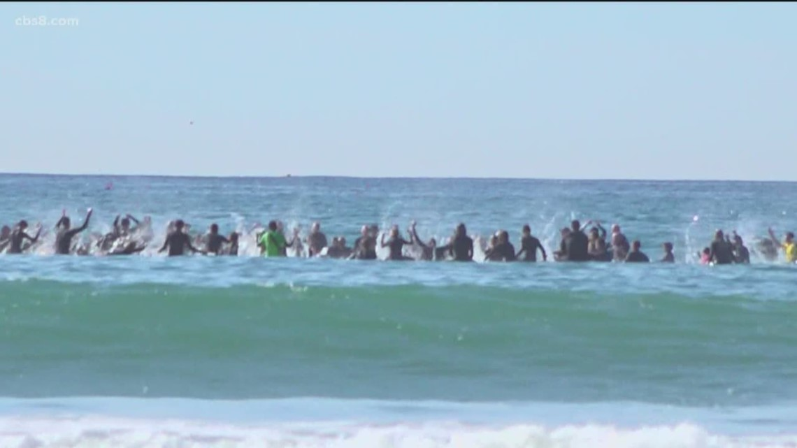 Surfers mourn the loss of Kira Stanley with paddle out in Encinitas