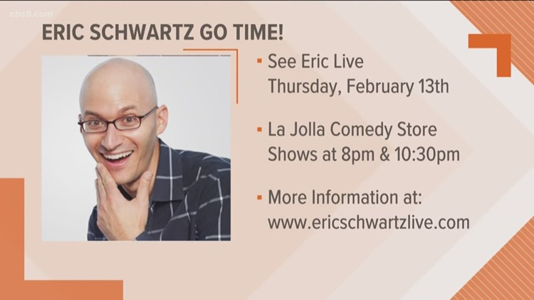 Go Time! See Eric Schwartz live at La Jolla Comedy Store