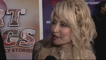Kelli Gillespie talks with the stars of Dolly Parton's Heartstrings