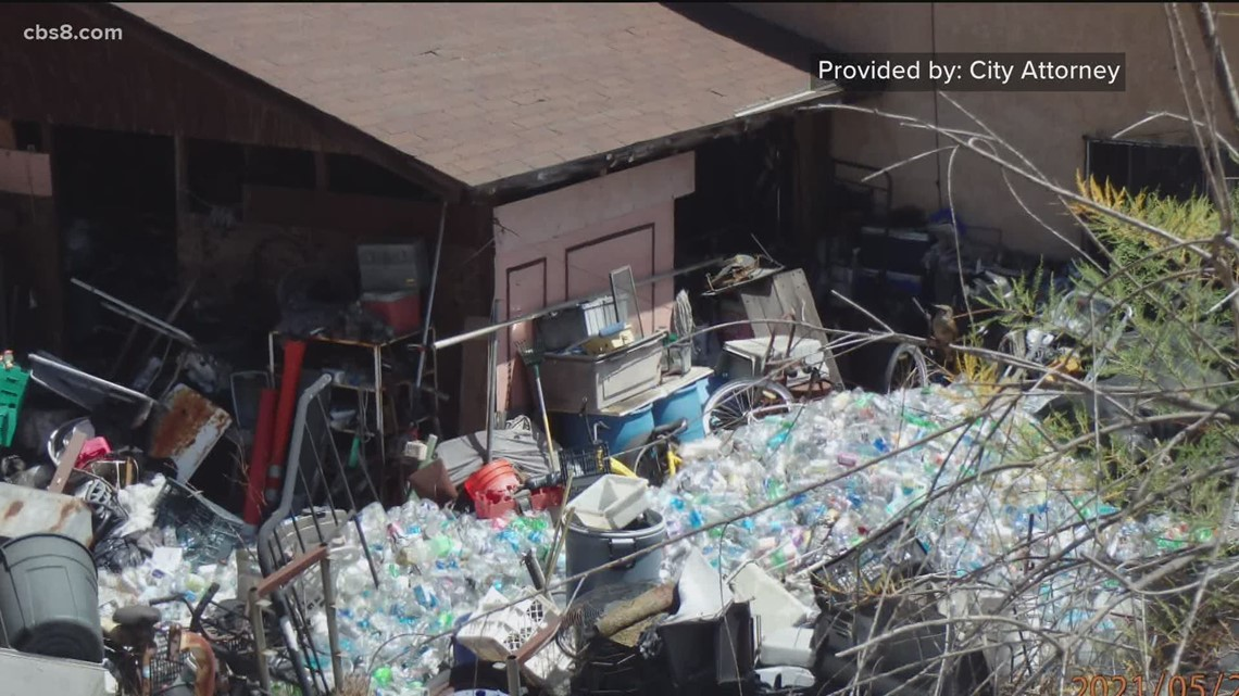 Court appointed receiver to clean up 'dangerous hoarding property'