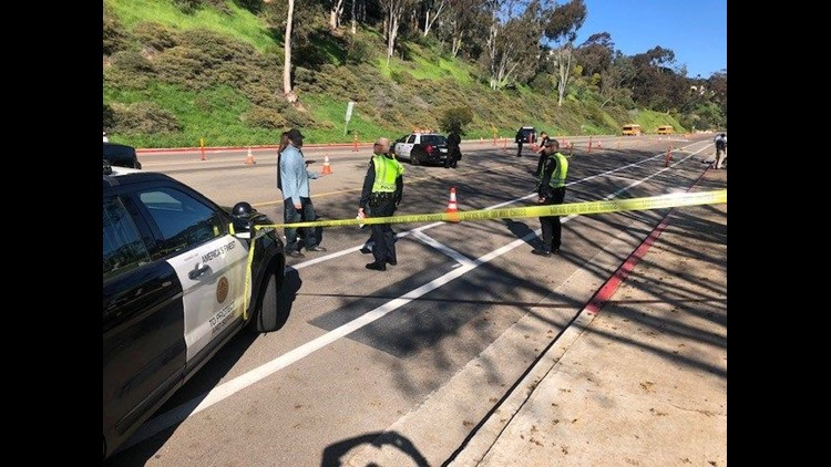 Fatal motorcycle accident snarls traffic in La Jolla | cbs8 com