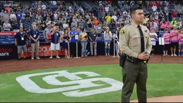 San Diego's singing deputy in the Zevely Zone