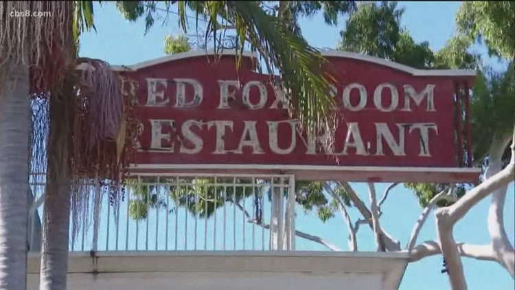 Legendary San Diego steakhouse Red Fox Room moving 60 years after opening