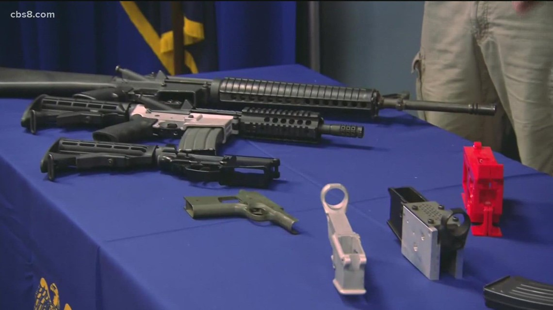 San Diego County officials propose bans for ghost guns