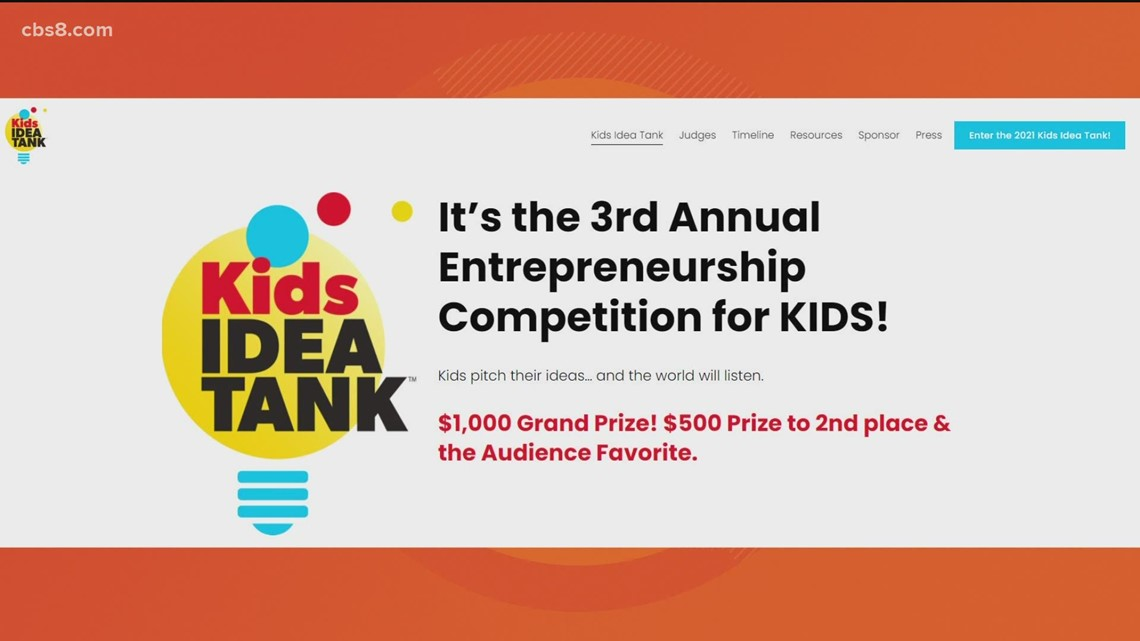 Kids Idea Tank: Kid inventors pitch ideas for seed money