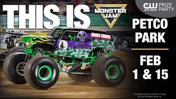 [CW Prize Party] Monster Jam at Petco Park