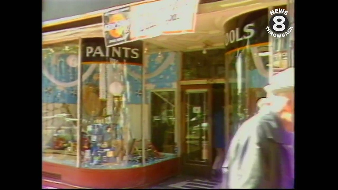 A trip to longtime business San Diego Hardware in 1983
