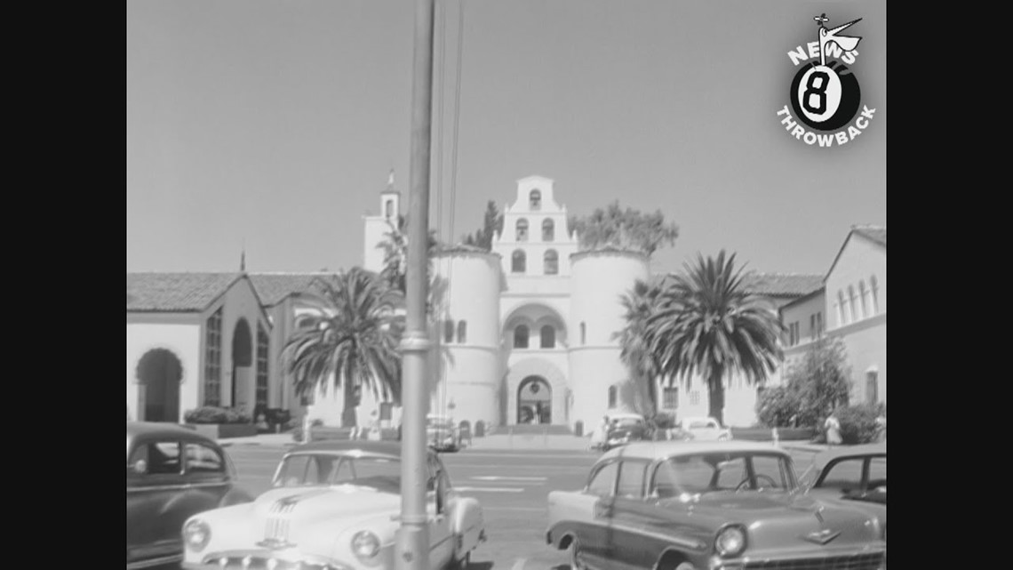 San Diego State College 1958