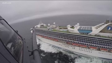 What's the status of cruise ships in San Diego?