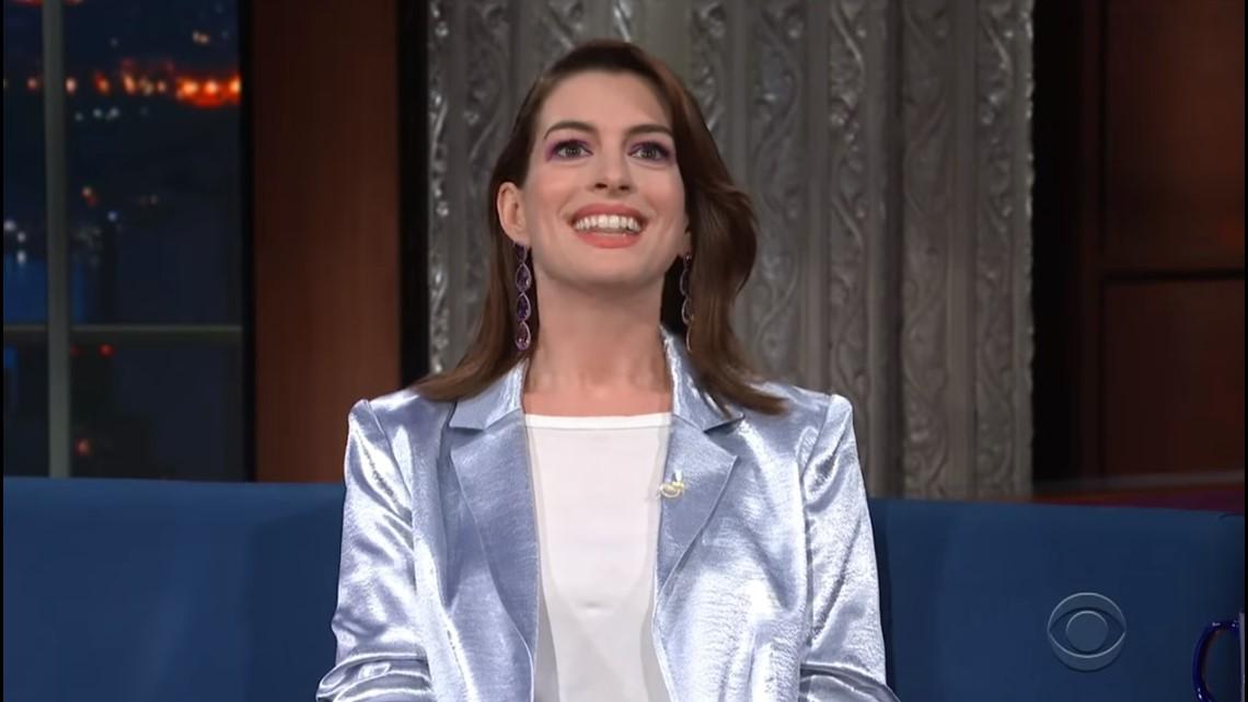 Gas Prices San Diego >> Anne Hathaway Just Had A Wardrobe Malfunction | cbs8.com