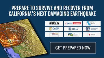 The resources available to help California prepare, survive, and recover from an earthquake
