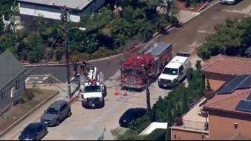Gas leak prompts evacuations in Mission Hills neighborhood