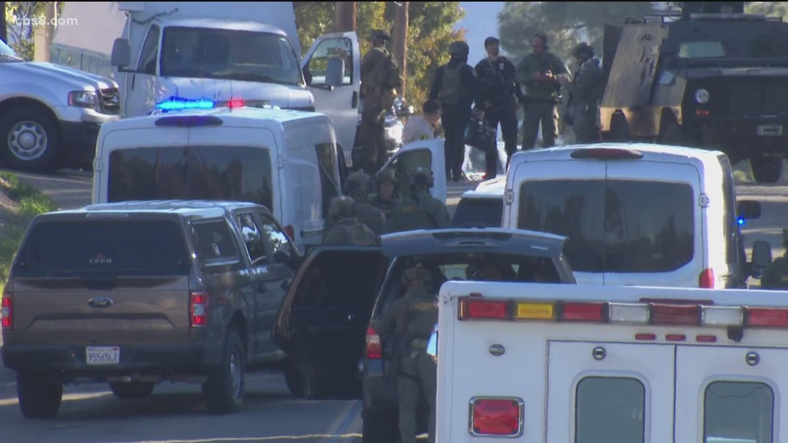 Suspect in officer shooting in Escondido found dead