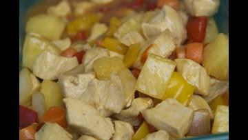 Gluten-free, dairy-free sweet and sour chicken