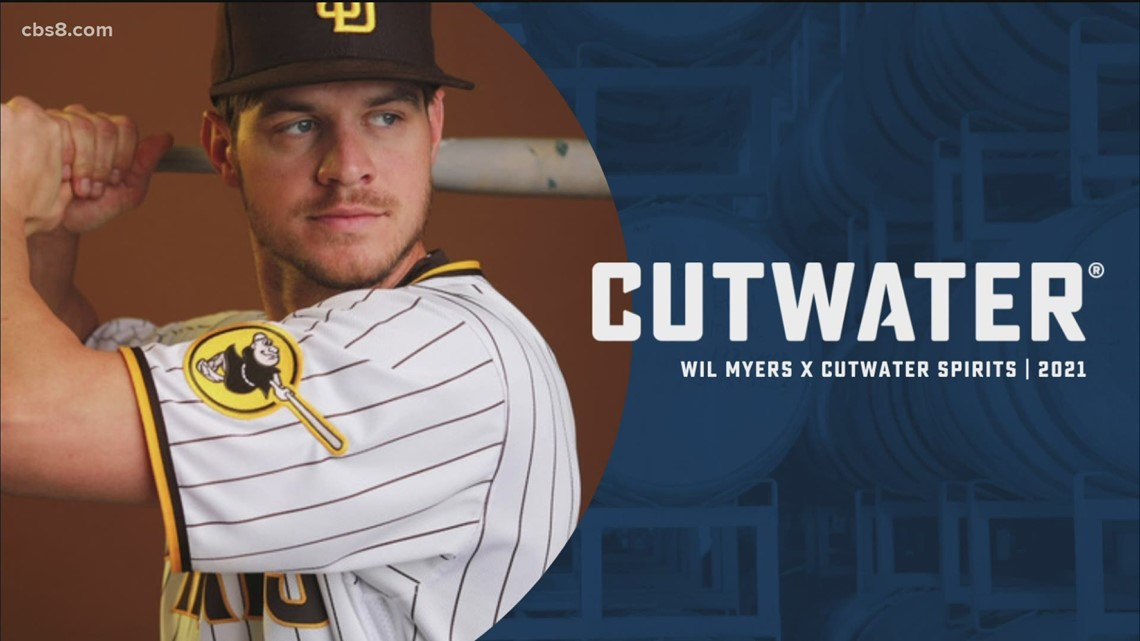New Cutwater Spirits promotion features Padre Wil Myers