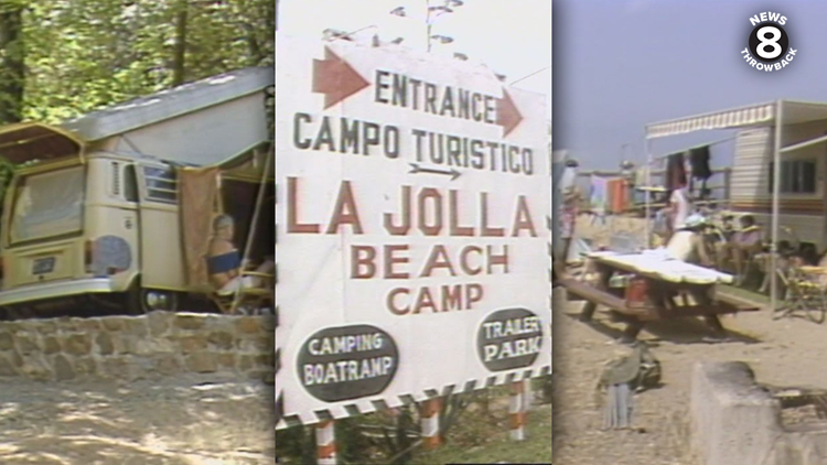 News 8 Throwback: Camping in San Diego County and Mexico in 1986