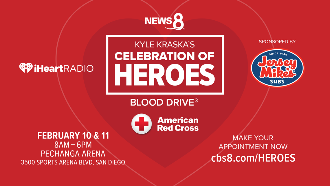 Celebration of Heroes Blood Drive collected 239 units of blood