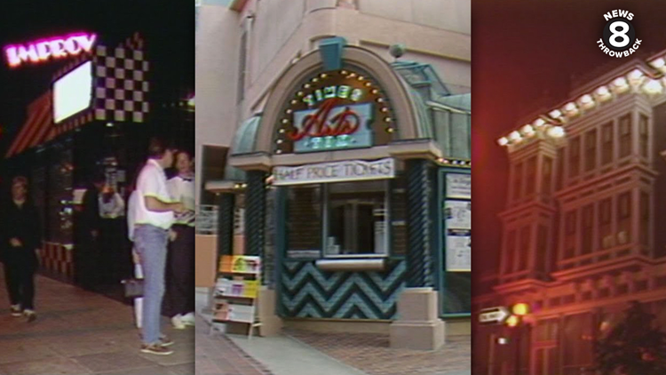 News 8 Throwback: What San Diegans did for a night on the town in 1990