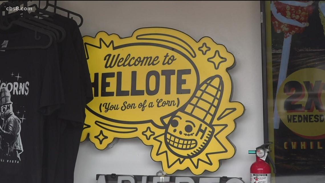 Mexican street corn 'Hellote' hits Chula Vista