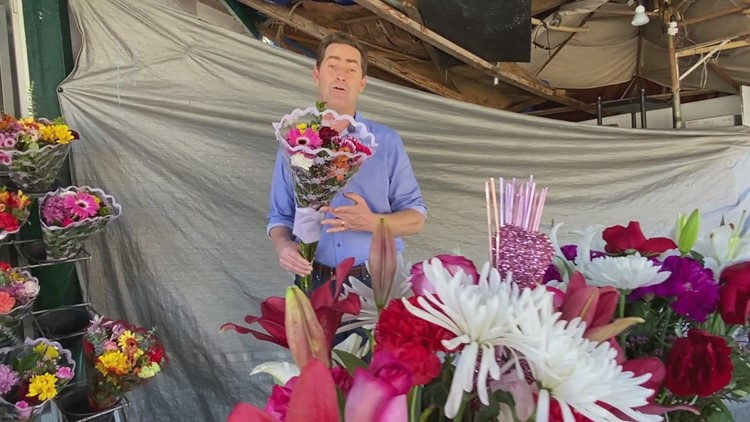 Flower Shop owner in need receives a lifeline from unlikely source