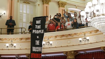 California governor signs vaccine bills