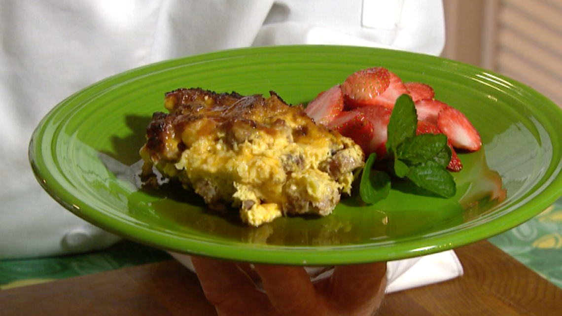Cooking with Styles: Sausage soufflé