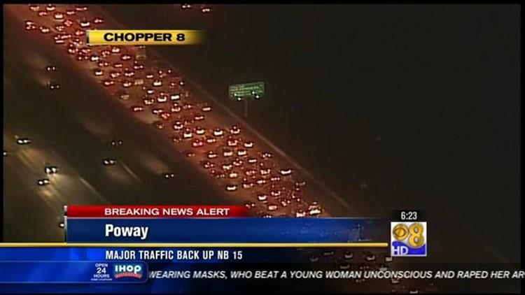 Multi-vehicle accident snarls traffic on NB I-15 | cbs8 com
