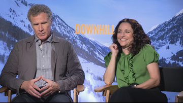 Will Ferrell & Julia Louis-Dreyfus team up for 'Downhill' in theaters on Valentine's Day