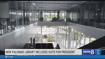 inewsource: New Palomar library includes suite for president