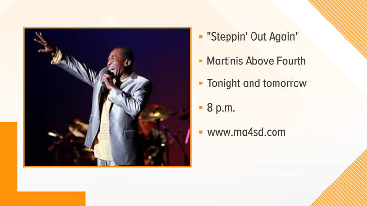 """""""Steppin' Out Again"""" event info"""