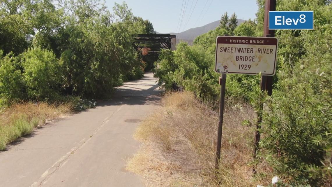 Drone: Sweetwater River Bridge