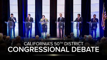 50th District congressional candidates face off in debate
