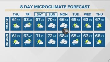 MicroClimate Forecast Thursday Jan. 16, 2020 (Morning)