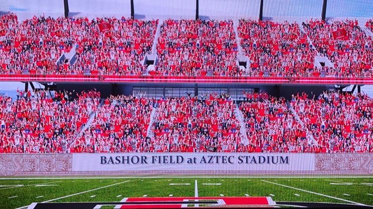 Bashor Field at Aztec Stadium