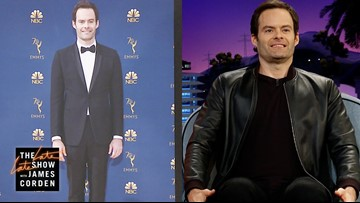 Bill Hader Doesn't Know What To Do With His Hands