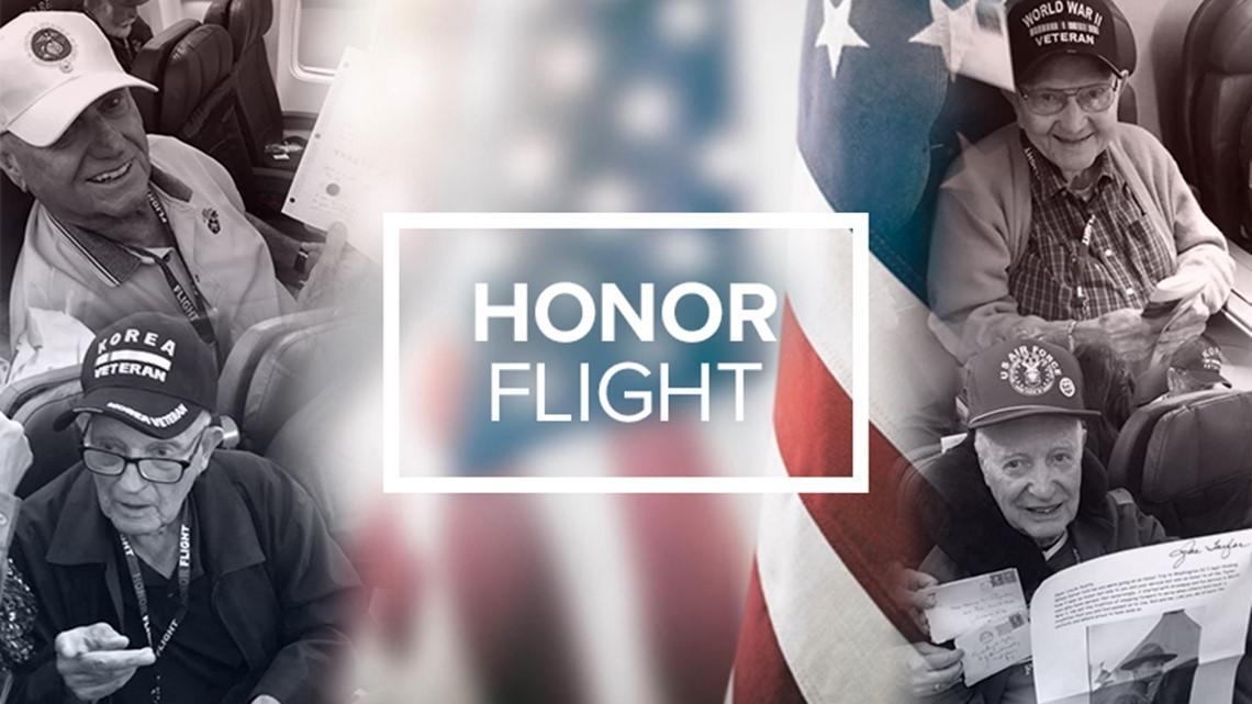 News 8's Abbie Alford recaps Honor Flight San Diego weekend