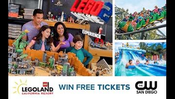 Win FREE Tickets to LEGOLAND® California Resort!