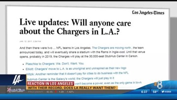 Does L.A. Really want the Chargers?