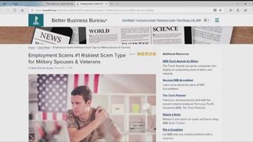 Scam Alert: Con artists targeting veterans