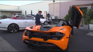 Extraordinary luxury cars for Christmas