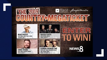 2019 Country Megaticket Grand Prize Giveaway