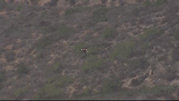 Woman rescued in Mission Trails after injury