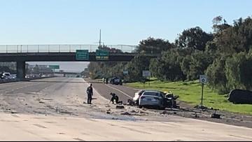 Two killed in crash involving wrong-way driver in Chula Vista
