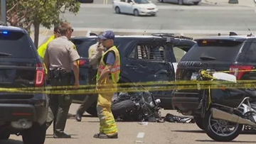 Motorcyclist killed in Encinitas ID'd as Valhalla High