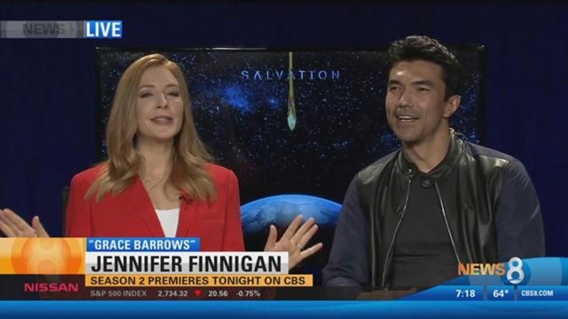 Season 2 of 'Salvation' premieres Monday on CBS