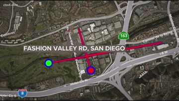 Friars Road detours as construction continues on SR-163