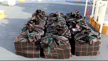 US Coast Guard offloads $569M worth of cocaine, marijuana in San Diego